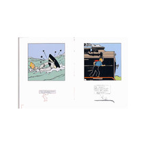 Tintin Little book of Peril and Little book of Travel set of 2 books image 2
