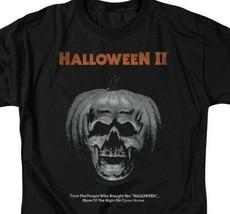 Halloween II t-shirt pumpkin skull retro 80s classic horror graphic tee UNI890 image 2