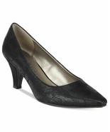 Karen Scott Meaggann Women Pump Heels Size US 7M Black Snake Print - $16.00