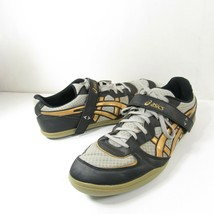 Asics Hyper Throw 2 Mens Size 11 EU 45 GN812 Black Track Field Lace Up S... - $24.74