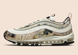 "Nike Air Max 97 ""Covered In Newspaper""  Mens Shoes - $239.72"
