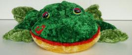 "Dan Dee Plush Frog Kiss on Face Soft Large 31"" Long - $12.99"