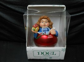 "Department 56 ""Noel Female Village Collector"" Ornament USED - $5.20"