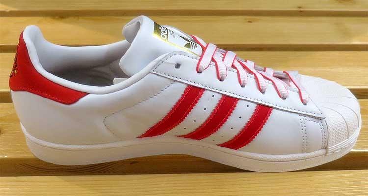 premium selection bf3cd 20556 Adidas Originals Superstar CNY Pack White Scarlet G27571