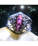 HAUNTED ANTIQUE RING THE QUEEN OF ALL SHADOWS SECRET CLOAKING  RARE OOAK... - $9,337.77
