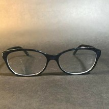 FENDI Blue Crystal Monogram Logo Oval Eyeglasses FRAMES ONLY F940 442 53... - $56.10