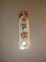 Marvel Comic Collectible Button Set Pin 4 Pk 70th Anniversary Set - $5.94