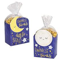 Amscan Twinkle Little Star Favor Box Kit, Multisize, Multicolor - $11.56