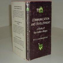 Communication And Development By Y. V. Lakshmana Rao 1966 [Hardcover] [Jan 01... - $15.84