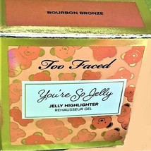 Too Faced You're So Jelly Highlighter Shade Bourbon Bronze 18ml NEW  ORIGINAL - $14.62