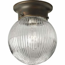 Progress Lighting P3599-20 1-Light Close to Ceiling Fixture, Antique Bronze - $12.50
