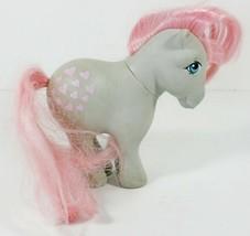 My Little Pony G1 Snuzzle 1982 Concave Feet CF Hasbro Vintage Grey Pink Mane - $12.99