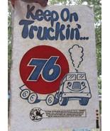 VTG 1970's Union 76 Keep On Truckin' T-shirt Iron On Heat Transfer Gas S... - $34.15