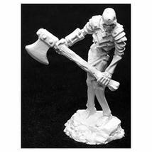 Reaper Miniatures Bog Skeleton with Great Axe #03943 Dark Heaven Unpainted Metal - $7.86