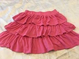 Gap Kids Girls Pink 3-Tier Skirt Sz Large 10 Cute! - $8.99