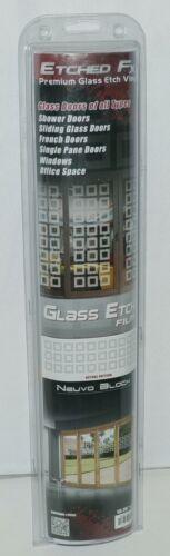 Illusions Inc GE4009 Etched FX Premium Glass Etch Neuvo Blocks