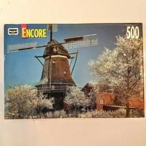 Rose Art Jigsaw Puzzle Encore 500 Piece Windmill Breman Germany 1999 Complete - $8.91