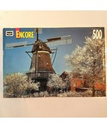 RoseArt Jigsaw Puzzle Encore 500 piece WINDMILL BREMAN GERMANY 1999 comp... - $8.91