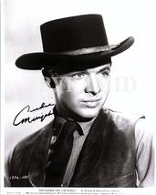 AUDIE MURPHY Authentic Autographed Hand Signed 8X10 Photo w/COA 520 - $225.00