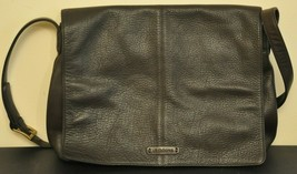 The Leather Co by Liz Claiborne Brown Leather Shoulder Bag with Adjustab... - $27.00