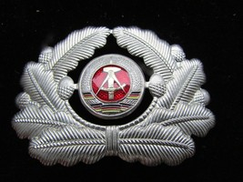 Post WW2 East GERMAN-DDR Army Officer's Hat BADGE/Cockard!!-NICE!!! - $9.89