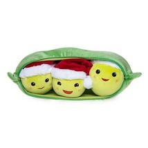 Disney Store Three-Peas-in-a-Pod Holiday Plush Doll Medium New with Tags - $25.86