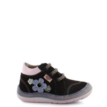 Girl's baby walker Rilo leather copper lace-up tennis shoes - $35.98