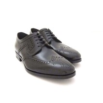Y Taille Ferragamo Noir Chaussure Cuir Romeo 1532222 Salvatore Us Lacets en Neuf rwq1v4SxZr