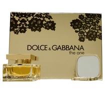 Dolce & Gabbana The One Lace Edition 2 Piece Gift Set Eau De Parfum Spray 50ML - $68.80