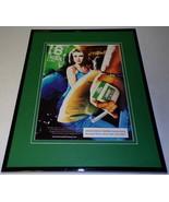 2000 Kool Cigarettes Framed 11x14 ORIGINAL Advertisement - $32.36