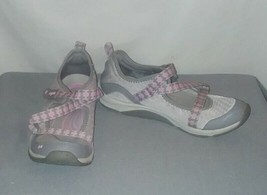Ryka Kailee Shoes Size 8M Adjustable Mesh Mary Jane Sneakers Pink Gray - €13,59 EUR