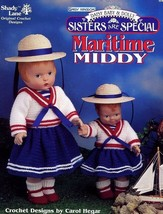 Maritime Middy Daisy Baby & Dolly Daisy Kingdom Shady Lane Crochet Pattern - $6.27