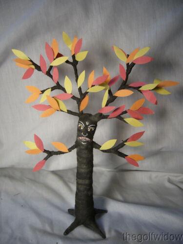 Vintage Inspired Spun Cotton Halloween Haunted Tree Man no. HW26
