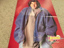 Andrew Keegan Jon and Jeremy Torgerson teen magazine poster clipping red