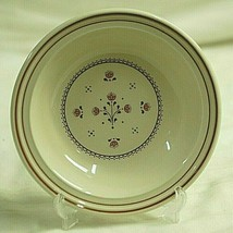 Tudor Flowers Johnson Bros. Fruit Dessert Bowl Table Plus Line Orange Fl... - $12.86