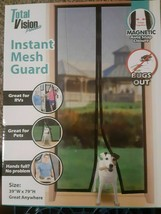 Details about  Instant Mesh Guard Keeps Bugs Out Magnetic Snap Closure - $9.41