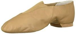 Bloch Girls' Super Jazz Dance Shoe, tan, 9.5 Medium US Toddler