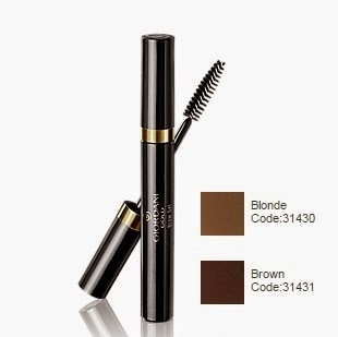 Giordani Gold Eye Brow Gel 4 ml Oriflame makeup + vitamin B5 hydrating brow gel