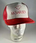 Vintage Ak-sar-ben Horse Racing Hat Cap K-Studios Omaha Nebraska Trucker... - $11.83