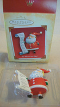 "2004 Hallmark Keepsake Ornament, Santa Claus "" So Much To Do! "", Bnib - $14.85"