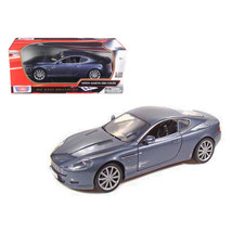 2004 Aston Martin DB9 Coupe Blue 1/18 Diecast Car Model by Motormax 73174bl - $78.35