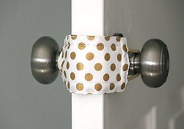 Latchy Catchy | PATENTED Door Silencer (Goldie Dot) - $10.95
