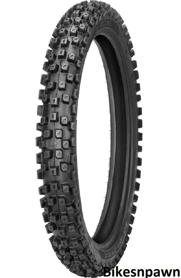 Shinko MX-208SR 80/100-21 Steel Belted Radial Front Motorcycle Dirt Tire 62M