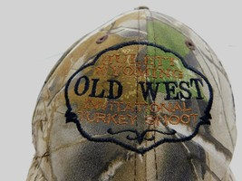 Old West Turkey Shoot Wildlife Series Hat Cap Strapback Camouflage Hunting - $11.57