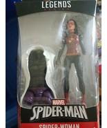 "Hasbro Marvel Legends Spider-Man Series 6"" Spider-Woman Figure w/ Lizard... - $32.99"