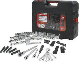 Craftsman Mechanic Tool Set 230 pc Standard and Metric Sizes w Carrying Case - $91.48