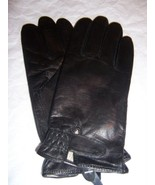 Ladies Genuine Leather Driving Gloves, XL, Black-See Description for Pic... - $23.75