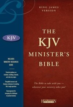 Holy Bible: King James Version Minister's, Black, Genuine Leather [Leath... - $125.00