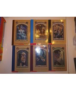 Lemony Snicket Series Of Unfortunate Events Kids Books Lot Of 6 -  1,2,4... - $19.79