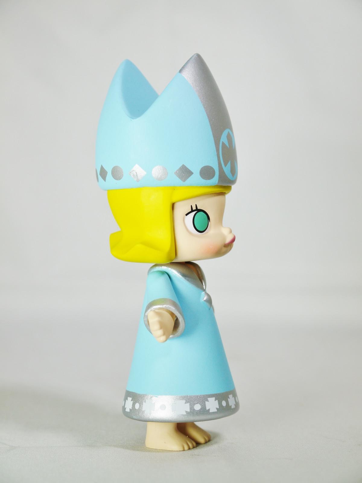 POP MART Kennyswork BLOCK Little Molly Chess Club Chessmate BISHOP BLUE